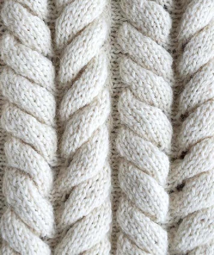 Вязание азиатского колоска для начинающих 3