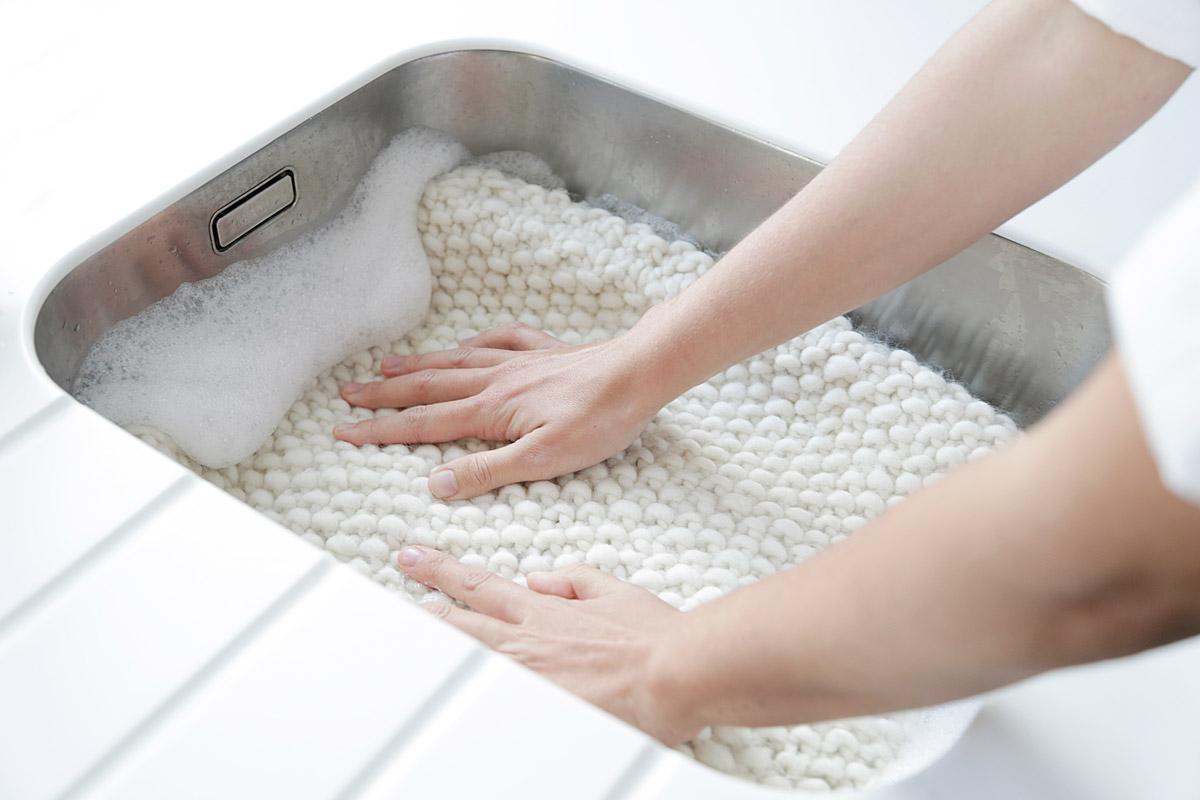 Влажно-тепловая обработка (ВТО) вязанных изделий из шерсти