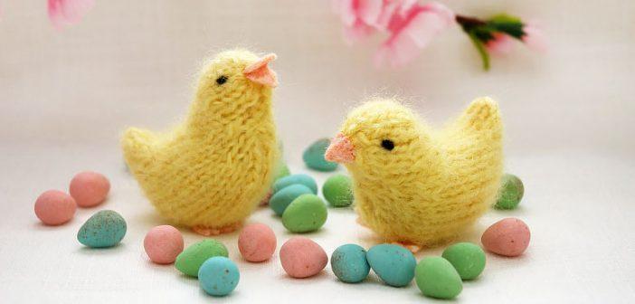 вяжем цыпленка на пасху