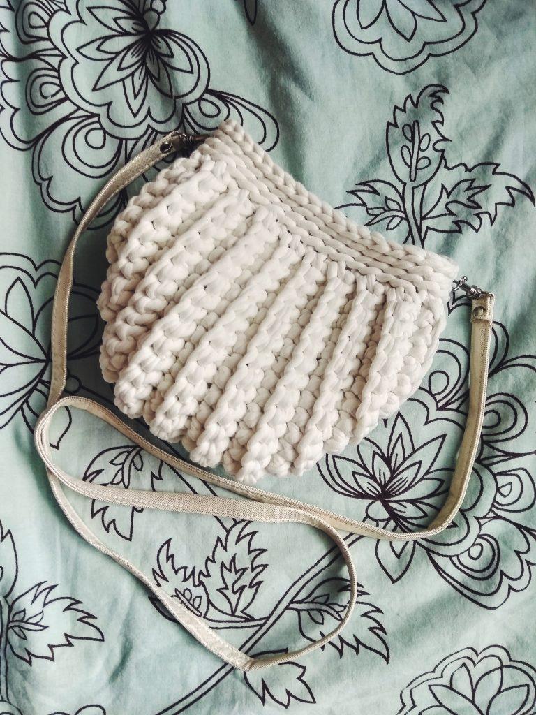 Сумка-ракушка описание вязания