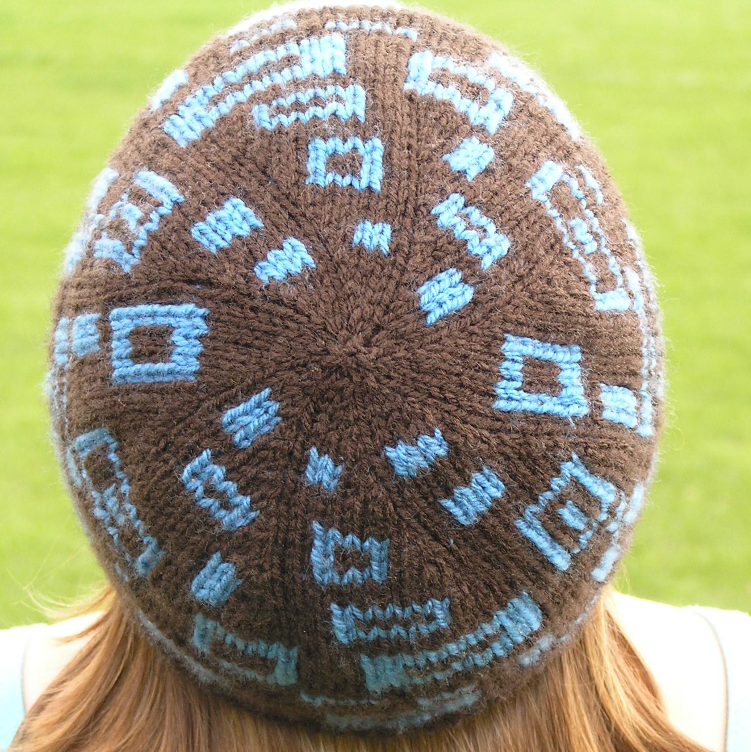 Как сделать идеальную макушку у шапки