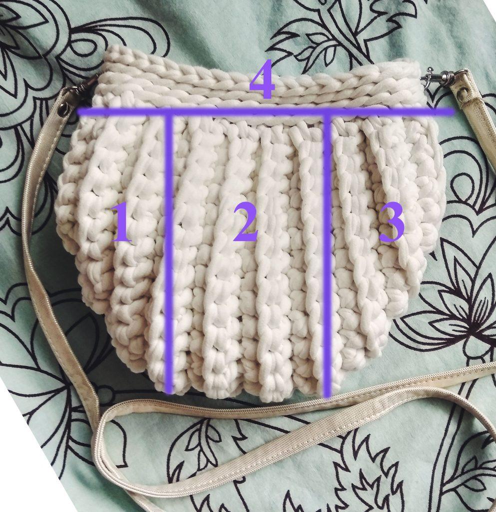 сумка-ракушка схема