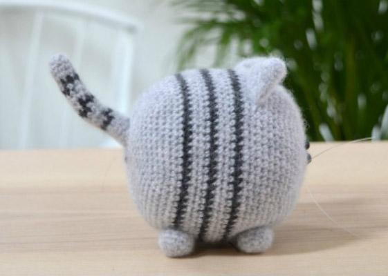полосатый кот крючком мк