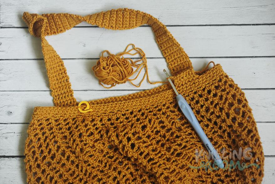 вязание сумки крючком