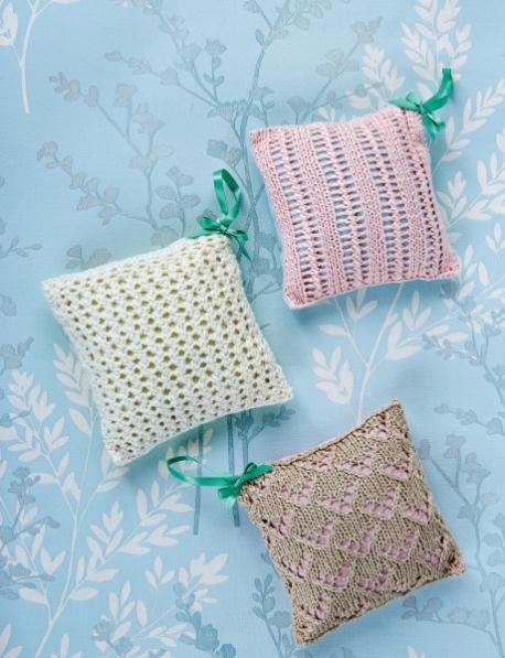 Лавандовые подушечки-саше