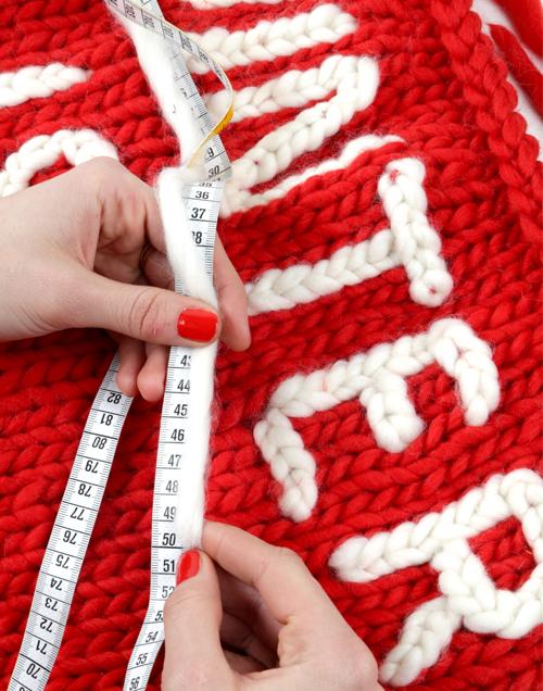 Шов для вышивки на трикотаже