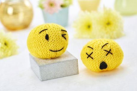 Вяжем смайлик Emoji