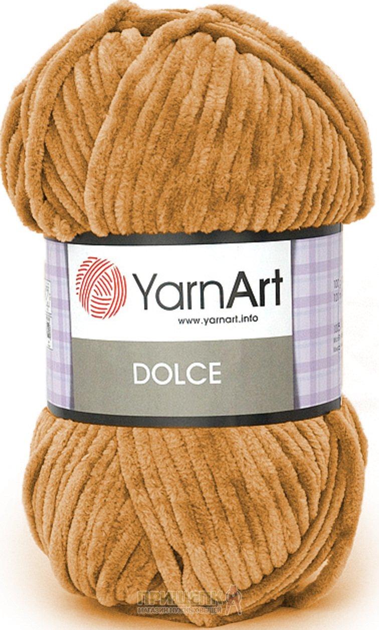 Плюшевая пряжа Dolce от YarnArt