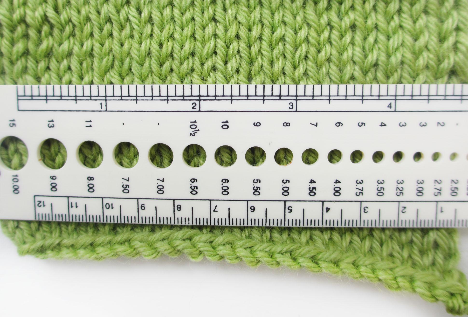 Расчет петель для вязания шапки